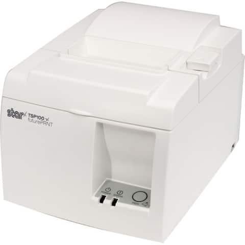 Star Micronics futurePRNT TSP143IIIBI GY US Direct Thermal Printer - Monochrome - Desktop - Receipt Print