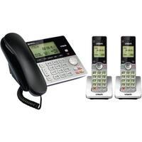 VTech CS6949-2 DECT 6.0 Standard Phone - Silver, Black
