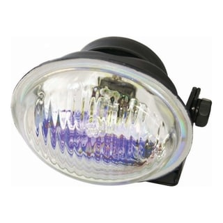Pilot Automotive Clear 3-1/ 2 x 1-7/ 8 inch Oval Compact Driving Light NV-550B