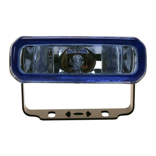Pilot Automotive Blue H3 55-watt 4 x 2-inch Rectangular Driving Light Kite NV-543WK