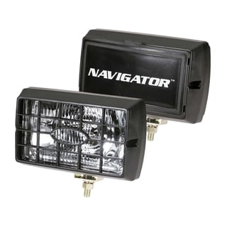 Pilot Automotive H3 55-watt Navigator 6 inch Black Housing Fog Lights NV-120Z