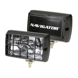 Pilot Automotive H3 55-watt Navigator 6 inch Black Housing Fog Lights NV-120Z