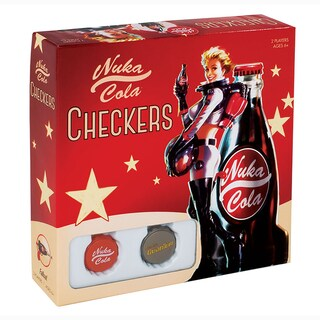 USAopoly Fallout Nuka Cola Checkers Board Game