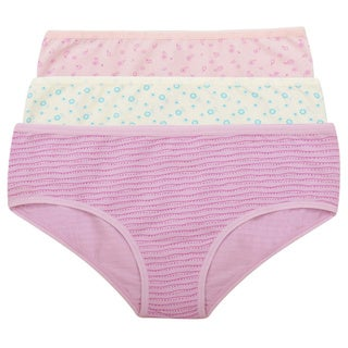 Amore Dorothy Soft Prints 3-Pack Hipster Panties (Option: Xl)