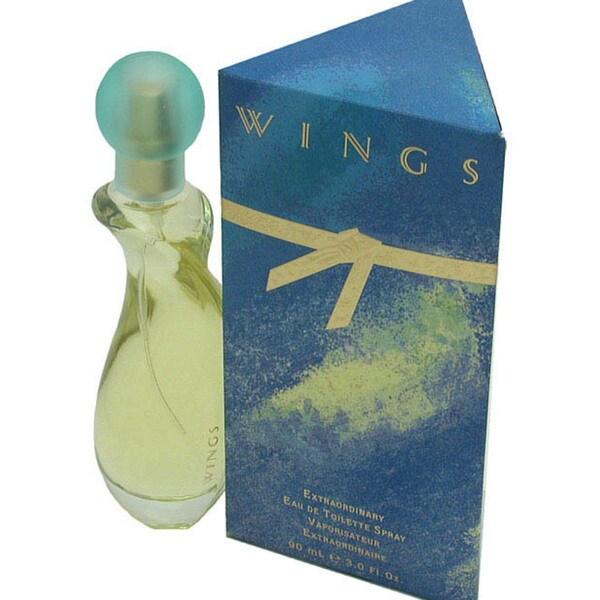 Wings Eau de Toilette Spray 3-ounce for Women