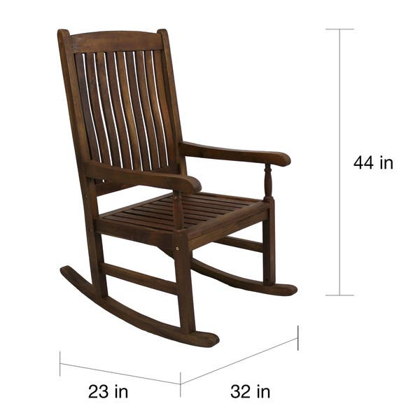 Magnificent International Caravan Highland Porch Rocking Chair Bralicious Painted Fabric Chair Ideas Braliciousco
