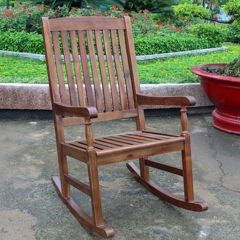 International Caravan Highland Porch Rocking Chair