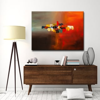 'Mindful' Ready2HangArt Canvas by Cguedez