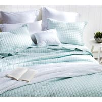BYB Classic Supersoft Pre-Washed Cotton Quilt Set- Hint of Mint