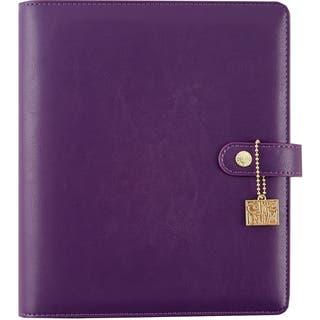 Carpe Diem A5 Planner-Purple (Option: Purple)|https://ak1.ostkcdn.com/images/products/16047188/P22435957.jpg?impolicy=medium