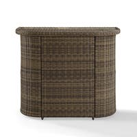 Bradenton Outdoor Wicker Bar