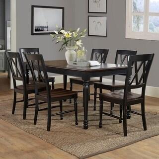 Shelby 7-piece Dining Set- Black