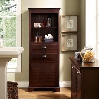 Lydia Tall Cabinet- Espresso