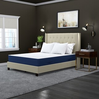 Handy Living Latex Foam and Pocketed Coil 12-inch Queen-size Mattress