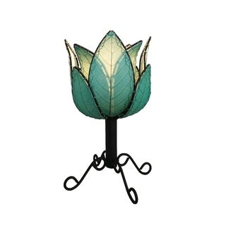Handmade Outdoor Lotus Table Lamp