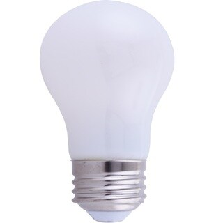 Goodlite 5W A15 LED Appliance Light Bulb, 500 Lumens E26 Base, (60W Equivalent) Frosted, Dimmable, (5 Pack)