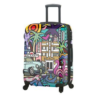 Mia Toro ITALY Jozza Life Style 24-Inch Hardside Spinner Upright Suitcase