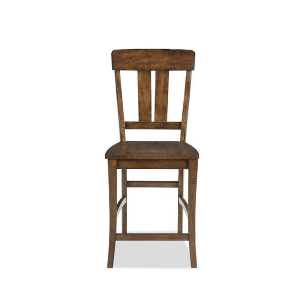 Shop The District Copper Finish Splat Back 24 Inch Barstool Pack Of