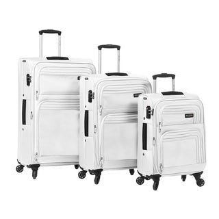 Mia Toro ITALY Cortina 3-piece Expandable Spinner Luggage Set Deals