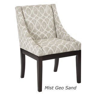 OSP Home Furnishings Mid-Century Monarch Wingback Accent Chair