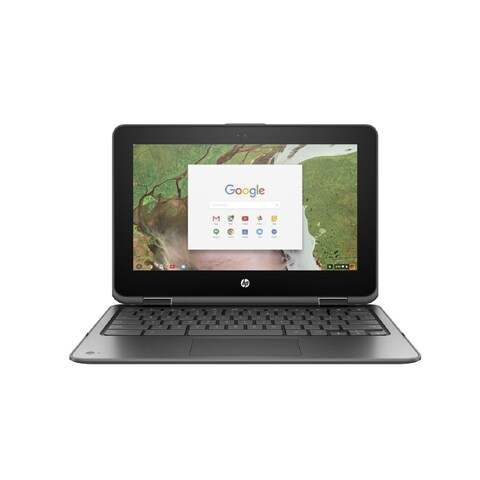 "HP Chromebook x360 11 G1 EE 11.6"" Touchscreen LCD 2 in 1 Chromebook -"