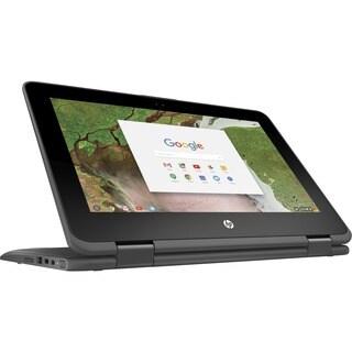 "HP Chromebook x360 11 G1 EE 11.6"" Touchscreen LCD 2 in 1 Chromebook -"