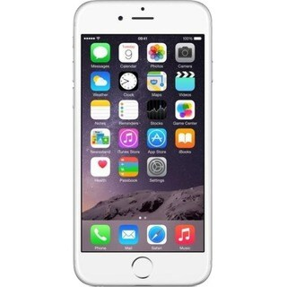 eReplacements Refurbished iPhone 6 16GB - Silver - Unlocked