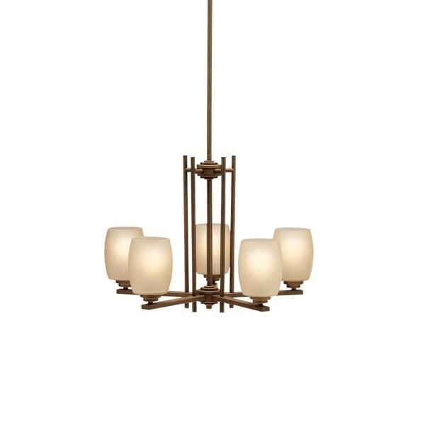 Kichler Lighting Eileen Collection 5-light Olde Bronze LED Chandelier