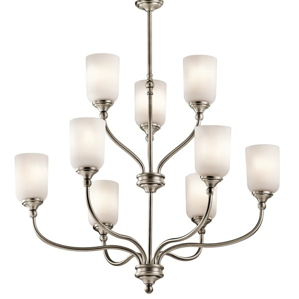 Kichler Lighting Lilah Collection 9-light Antique Pewter Chandelier