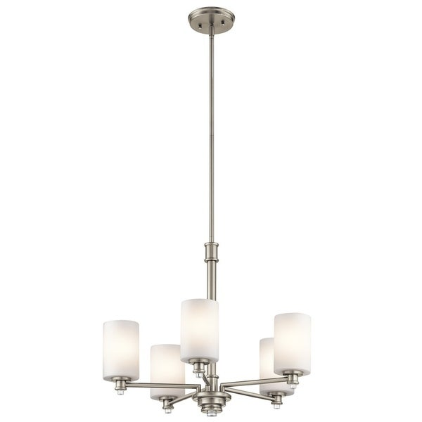 Kichler Lighting Joelson Collection 5-light Brushed Nickel Chandelier