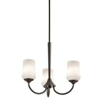 Clay Alder Home 3-light Olde Bronze Chandelier - Thumbnail 0