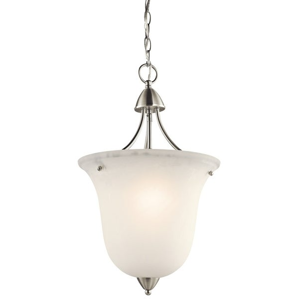 Kichler Lighting Nicholson Collection 1-light Brushed Nickel Foyer Pendant