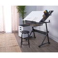 """Studio Designs Fusion Craft Center Drafting Table with 24"""" Tray"""