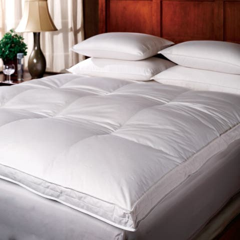 1221 Bedding Down Top Featherbed - White