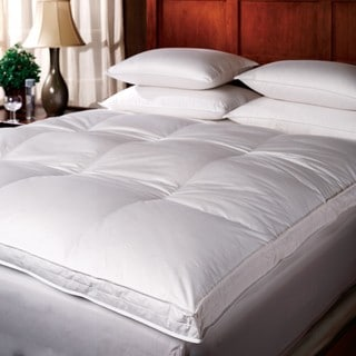 Link to 1221 Bedding Down Top Featherbed - White Similar Items in Mattress Pads & Toppers