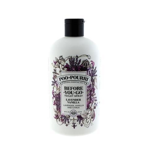 Poo-Pourri Lavender Vanilla 16-ounce Before-You-Go Toilet Refill Bottle