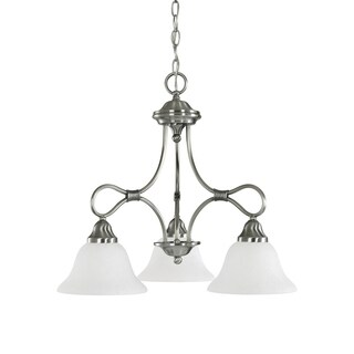 Kichler Lighting Stafford Collection 3-light Antique Pewter Chandelier