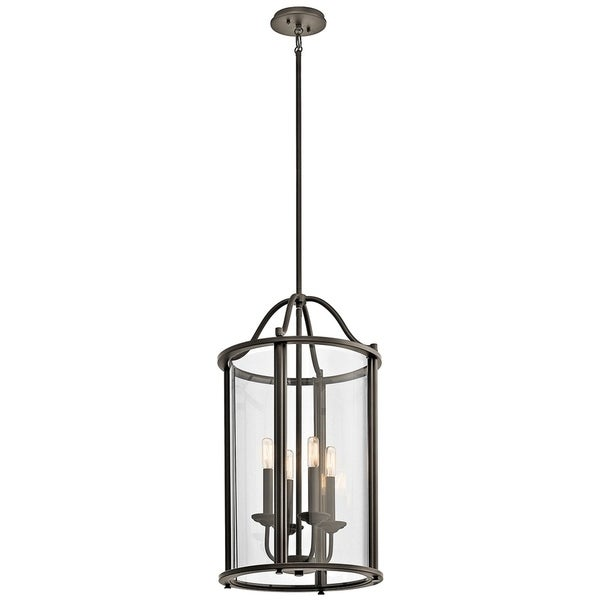 Dining Room Lighting Emory Collection Emory 3 Light: Shop Kichler Lighting Emory Collection 4-light Olde Bronze