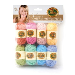 Lion Brand Yarn Vanna's Palettes Peaceful 865-200 1 Pack Mini Novelty Yarn