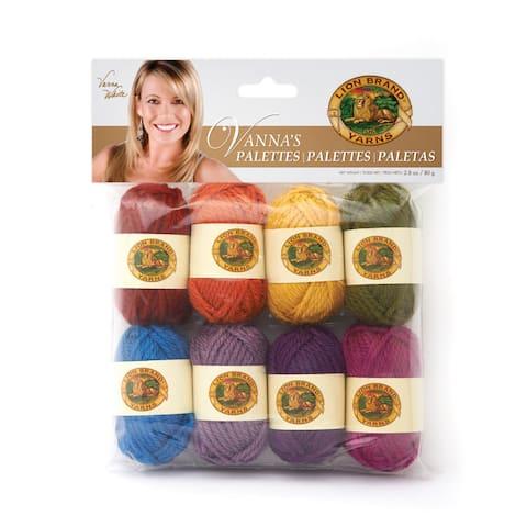 Lion Brand Yarn Vanna's Palettes Iconic 865-206 1 Pack Mini Novelty Yarn