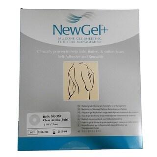 NewGel+ Silicone Gel Areola Clear Sheeting for Scar Management (2 per Box)
