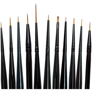 Majestic Detail Brush Set-11/Pkg