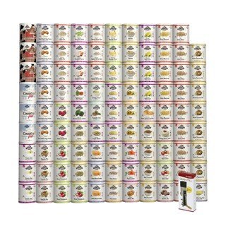 Augason Farms Deluxe Emergency 1 Year Food Supply (1 Person), 98 Cans