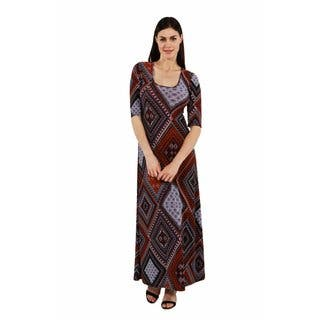 24/7 Comfort Apparel The Diva Maxi Dress|https://ak1.ostkcdn.com/images/products/16048730/P22437322.jpg?impolicy=medium