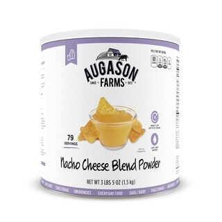 Augason Farms Nacho Cheese Blend Powder 53 oz No. 10 Can