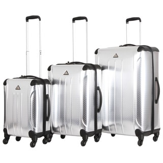 Triforce Apex Industrial 3-Piece Hardside Spinner Upright Luggage Set