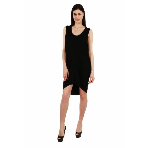 24/7 Comfort Apparel Blackbird Dress