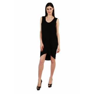 24/7 Comfort Apparel Blackbird Dress
