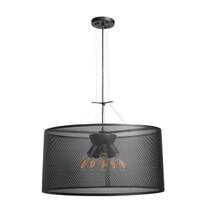 Access Lighting Epic LED 28-inch Black Round Pendant