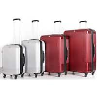 Triforce Alpine 4-Piece Hardside Spinner Upright Luggage Set